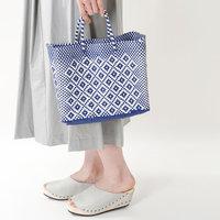 今年の夏はちょっとレトロな『編みかごバッグ』でお出かけしましょう◎