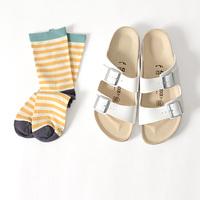 つま先から夏じたく♪「靴下・ソックス」で魅せる、初夏のおしゃれ足元コーデ集
