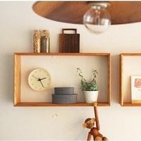 機能的にも使えるよ。「飾り棚」でお部屋を素敵にする方法