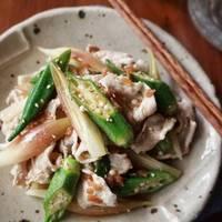 【旬を食べよう ー6月篇ー】イカ、タコ、ホタテ、インゲン、オクラを使ったレシピと献立案