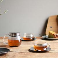 """おいしいお茶を心ゆくまで。暮らしに寄り添うティーウェアKINTOの""""UNITEA"""""""