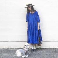 夏の装いに旬感を添える。上品で爽やかな【ブルーカラー】のアイテムを取り入れてみない?