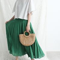 ふわりと揺れて初夏美人*【ロングのフレアスカート】を使った素敵な着こなし、集めました。