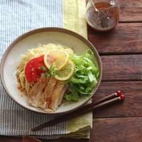 休日のお昼はこれで決まり!素麺、うどん、パスタを使った「冷やし麺」レシピ集