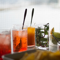 夏のひと休み。「おしゃれグラス」と「サマードリンク(レシピ)」の素敵な組み合わせ♪