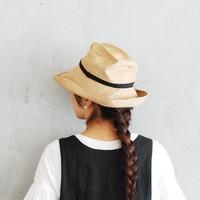 コーディネートのアクセントに。クラシカルな夏の麦わら帽子を