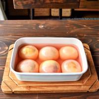 ひと手間でさらに美味しくなる♪旬の『桃』を使った優しい甘みのスイーツレシピ集