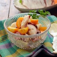 色とりどりで美しい!いろいろな果物を取り入れた、デザート以外のフルーツレシピ集