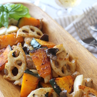 食物繊維たっぷり♪【かぼちゃ/レンコン/サツマイモ/サトイモ/きのこ】で作る秋の味覚レシピ帖