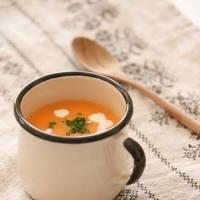 夏の疲れたおなかにやさしいがうれしい。ほっこり「ポタージュスープ」のレシピ