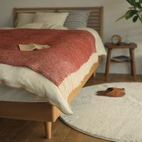 ベッドルームから秋じたく。寝室に欲しいアイテムと、模様替えのヒント