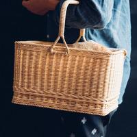 お買い物やピクニックのお供に。かご・バスケットのある暮らし