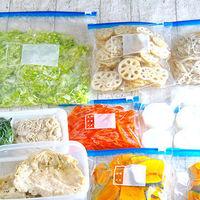 忙しい私の心強い味方!冷凍保存しておくと便利な食材&活用レシピ