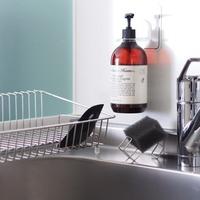 """使いやすさも清潔感も大事にしたい。""""キッチンのシンク""""をシンプル&きれいにお片づけ"""