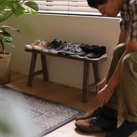 狭い空間を上手に使って。靴も傘もすっきり【玄関収納】のアイデア