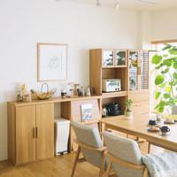 ピッタリすっきり、整理しやすい♪「収納家具」はシリーズで揃えよう