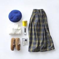 シンプル服と秋小物*街のおしゃれさんたちの秋コーディネートをチェック