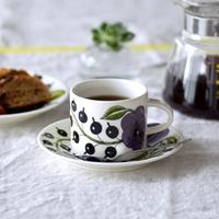 しまわずに飾っておきたい。素敵な【カップ&ソーサー】でいただく挽きたてコーヒー