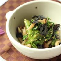 ピリッと辛みがたまらない!この冬絶対食べたい「わさび菜」レシピ