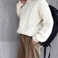 愛され続ける《冬の定番》たくさん着たい「アランニット」&「ノルディックニット」