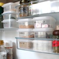 容器やラベリングをかしこく活用。「冷蔵庫」のすっきり収納アイデア