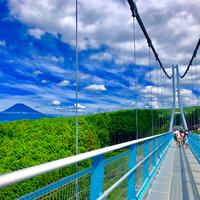 空を歩くように『三島スカイウォーク』で日本一の富士山を堪能しよう!