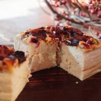 ふわっと甘い幸せの味♪ グルテンフリーで新潟の自然の恵みが詰まった「麹チーズケーキ」