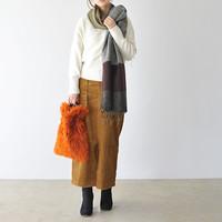 カジュアルも、レディな装いにも*「タイトスカート」でつくる冬コーデ