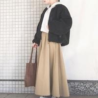 《ベージュのロングスカート》を制服化しましょ♪春夏秋冬ナチュラルコーデ集