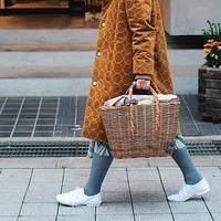 """""""あえて""""今持つのが素敵。真冬の【かごバッグ】着こなし案内"""