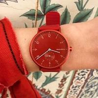 幸せな時間は手元から。北欧デザイン『SKAGEN』の新作《腕時計》