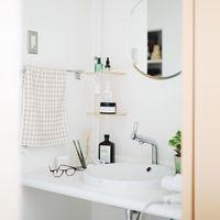 爽やかな1日を始めよう!心地良い「洗面所インテリア」の5つのポイント