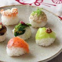 家族みんなで楽しむひなまつりに♪「カップちらし寿司&手まり寿司」レシピ集