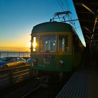 冬の古都鎌倉へ散策に。 江ノ電に揺られる小さな旅のご案内*