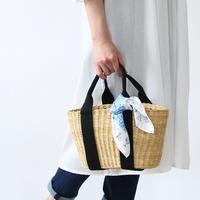 【スカーフ×バッグ】で楽しむ春のお出かけ-巻き方・結び方付き-