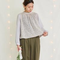 春こそ着たい*「刺繍デザイン」のアイテムで女性らしさと品を纏う