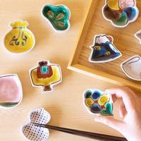 食卓に遊び心を♪色・形いろいろ「豆皿」の楽しい使い方&コーディネート術