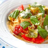 体をなるべく冷やさず、栄養もしっかり♪『夏野菜』で作るパスタのレシピ集