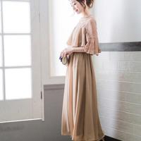 結婚式やパーティでさらりと着たい♪蒸し暑い季節に向けての「初夏のドレス」コーデ