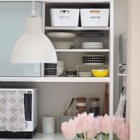 《無印良品・ニトリ・100円ショップ》のアイテムが活躍!「キッチン収納」を整える
