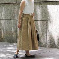 ガーリーになりすぎない。英仏ブランド発《ロングスカート》の夏コーデ