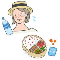 天気予報がアップデート!「熱中症」と「お弁当(食中毒)」の危険度が分かる◎