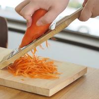 包丁代わりに『千切りピーラー』&『スライサー』を使って、もっと手軽に簡単時短レシピ♪