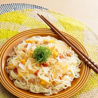 真夏に向けてスタミナをつけよう!【そうめん&パスタ】で作る、簡単炒め麺のレシピ集