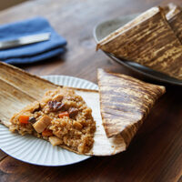もちもち美味しいごちそうレシピ【ちまき】の巻き方・作り方