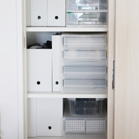 家中で大活躍♪組み合わせ自由な【ポリプロピレンケース】の収納アイデア