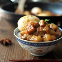 台湾の名物グルメ「魯肉飯(ルーローハン)」のおすすめ人気レシピ