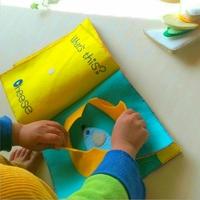 赤ちゃんに作ってあげたい。ふわふわ【布絵本】の作り方とアイデア