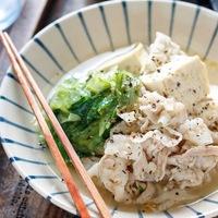 夏の終わり…お肌や夏バテの味方!さっぱり美味しい『豆腐』のレシピ