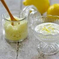 パラっとちょい足し♪レモンの香りが爽やか『レモンシュガー』をおいしく取り入れて。